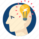 blub, brainstorming, creative, idea, inspiration icon