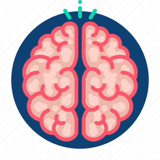 brain, creative, mind, thinking, thoughts icon