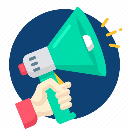 ads, advertisement, announce, announcement, speaker icon