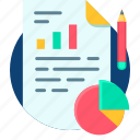 analysis, business, chart, graph, pie, report icon