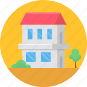 building, farm house, farmhouse, home, house, property, village icon