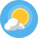 day, forecast, rising, summer, sun, sunny, weather icon