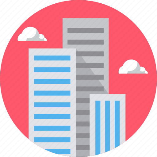 building, buildings, business, city, high, office, property icon