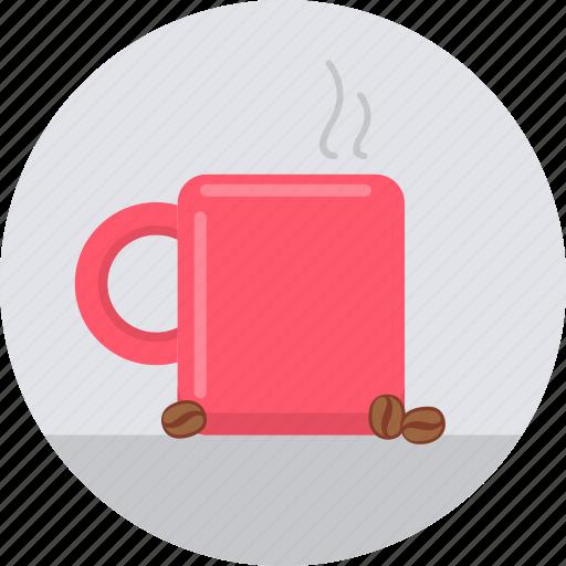 beverage, coffee, cup, drink, hot mug, mug, tea icon