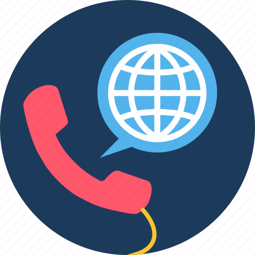 abroad, call, contact, help, hotline, service, support icon