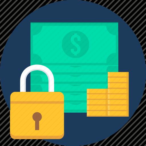 Lock, locker, money, safe, safety, bank, security icon - Download on Iconfinder