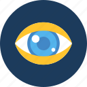 care, eye, look, search, see, seo, vision icon