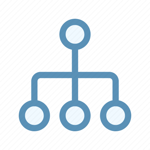 business, hierarchy, interface, map, organize, user icon