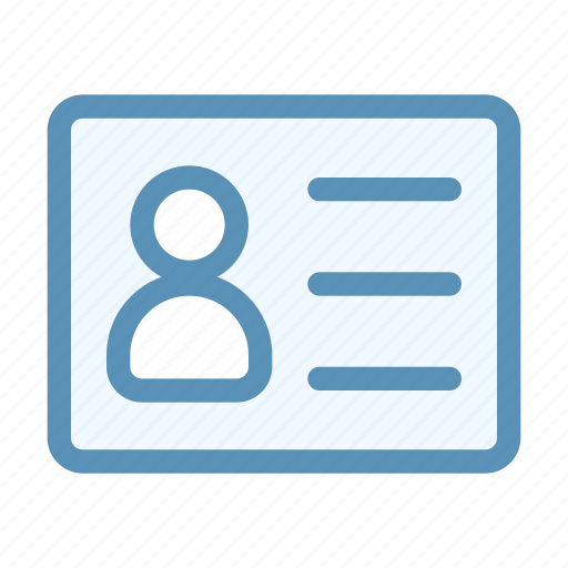 business, card, communication, contact, interface, user icon