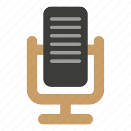 communication, micro, microphone icon