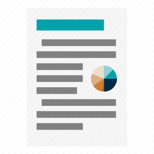 data, infographic, magazine, newspaper, text icon