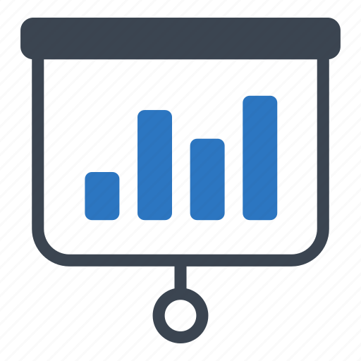 bar, business, chart, finance, presentation icon