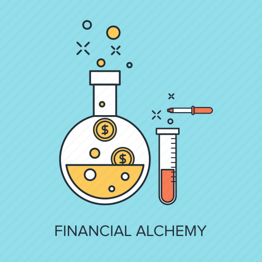 chemistry, finance, laboratory, money, research, science, tube icon