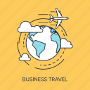 airplane, business, global, international, location, travel, world icon