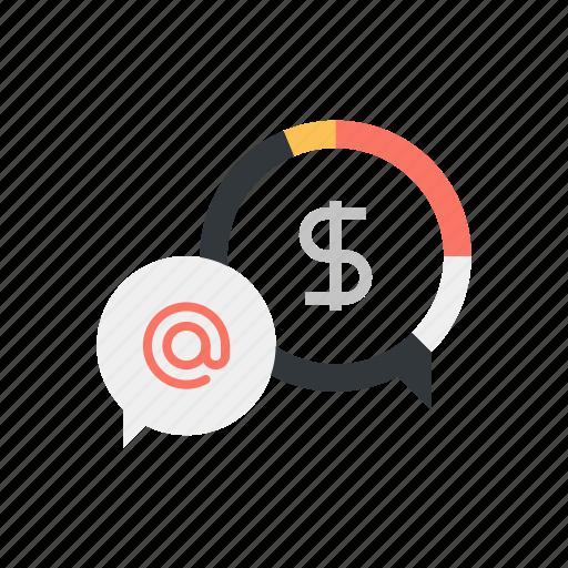 Analytics, chart, digital, email, marketing, message, statistics icon - Download on Iconfinder