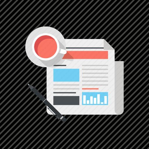 Media, news, newsletter, newspaper, paper, press, release icon - Download on Iconfinder