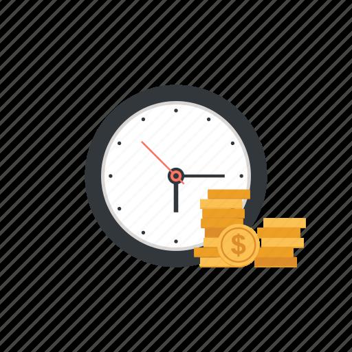 Clock, management, money, schedule, time, timer, watch icon - Download on Iconfinder