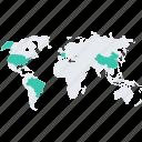 business, communication, earth, global, international, map, world