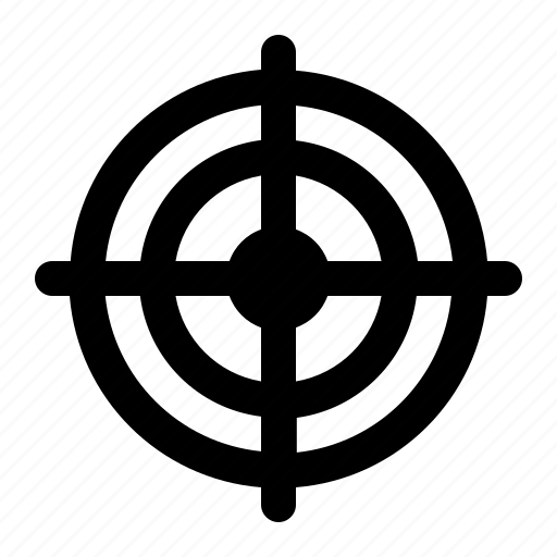 business, finance, outline, target, target icon icon