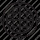 business, finance, radar icon