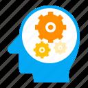 business, finance, intelligence, logic, thinking, thought icon