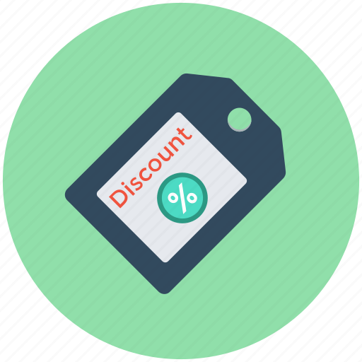 discount label, discount offer, discount tag, price off, shopping offer icon