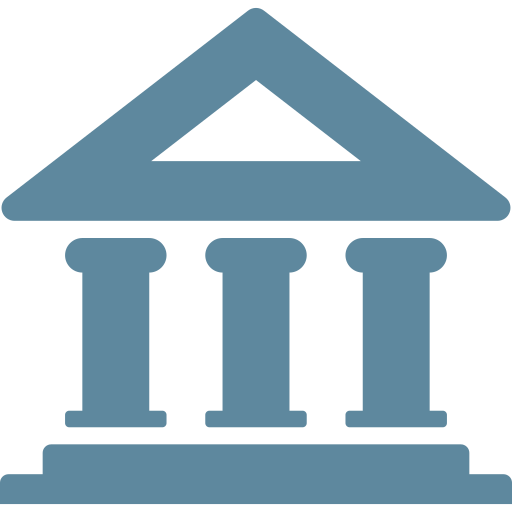 Bank, building, business, deposit, economy, finance, investment icon - Free download