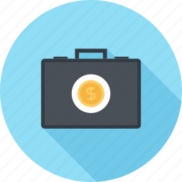 briefcase, business, finance, investment, money, portfolio, savings icon