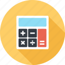 accounting, budget, calculate, calculator, finance, math, mathematics icon