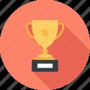 achievement, award, cup, reward, success, trophy, win
