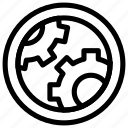 development, engineer, engineering, gear, option, setting icon