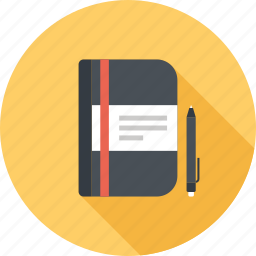 book, document, notebook, notepad, plan, planning, schedule icon