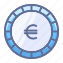 cash, currency, euro icon