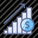 diagram, rate, statistics icon