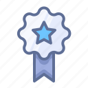 achievement, medal, success icon