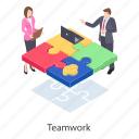 collaboration, fellowship, partnership, problem solving, team strategy, teamwork icon