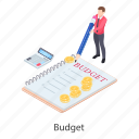 accounting, auditing, budget accounting, calculation, financial estimate