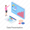 business graph, business presentation, data analytics, graphical presentation, infographic, statistics icon