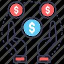 economy, finance, funded, investment, money icon