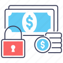 finance protection, payment protection, payment safety, payment security, secure payment icon