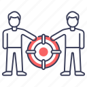 business help, business maintenance, business support, support service, technical support icon