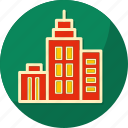building, business, city, finance, marketing icon