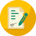 agreement, business, contract, document, finance icon