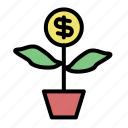 business, currency, dollar, finance, financial, money, payment icon