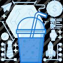 beverage, break, cup, drink, fast, food, soda
