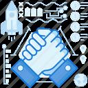 agreement, gesture, hand, handshake, team, teamwork