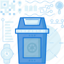 bin, can, ecology, garbage, recycle, rubbish, trash