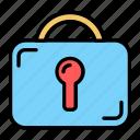 security, protection, secure, lock, key, padlock, shield