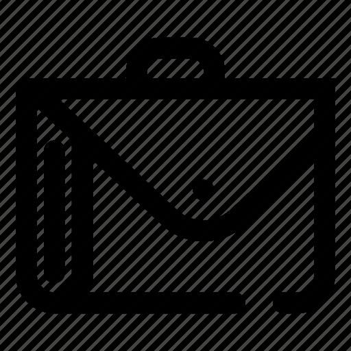 briefcase, business, folder, portfolio, suitcase icon