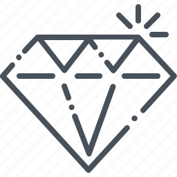 clean, code, diamond, expensive, premium, spectial icon